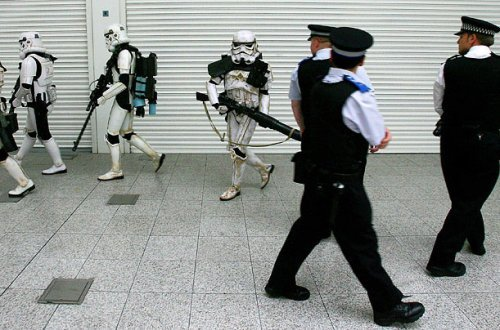 Stormtroopers and cops